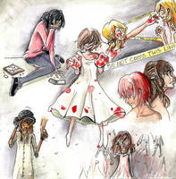 Magic Girls pains of the past by magicgirls0