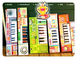 Fake Keyboard 2011 Collection by hyronomous