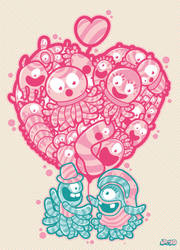 love balloon by drud-studio