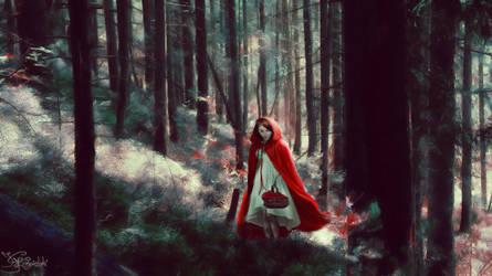 Wander off the beaten path (moonlight) by kriskeleris