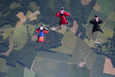WINGSUIT: 3-way with friends. by MojoDesign