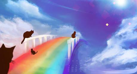 Cat Bridge by Eun-su