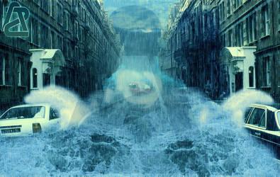 Flooded City by AZ-Design