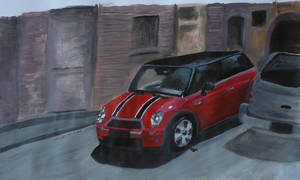 Red Mini by FragileReveries