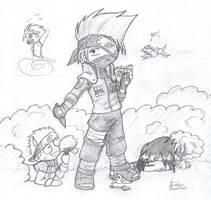 Naruto - Great Kakashi-sensei by farris