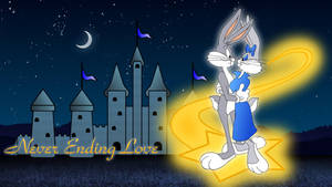 Bugs Bunny and Honey Bunny wallpaper by Ivellios1988