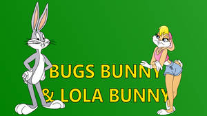 Bugs Bunny and Lola Bunny intro card by Ivellios1988