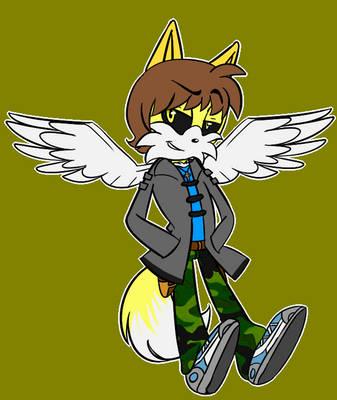 BlackHawk the Fox-Cat by GenBlackHawk1