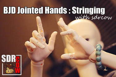 BJD Jointed Hands by sdrcow