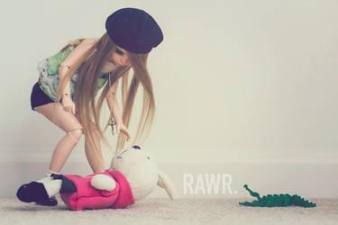 RAWR. by sdrcow