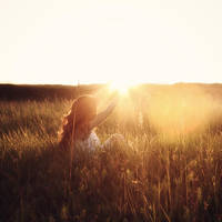 holding the sun by photoflake