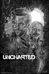 UNCHARTED FAN POSTER by Spaceboycomics