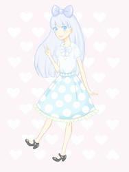 Pastel Friends: Anne Weather (Friend) by LinzyLovesClowns