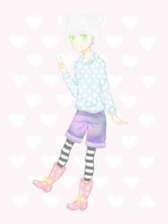 Pastel Friends: Alexa Ninch (Friend) by LinzyLovesClowns