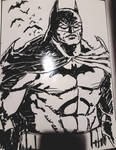Dark Knight Dry Erase by MisterHydesSon