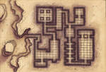 Desert Maps: Grid Tomb by Caeora