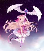 Magical Neko by Temachii