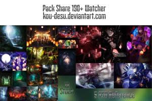 Pack Share Happy 190+ Watcher by Kou-Desu