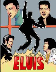 Elvis Presley Birthday Tribute #23 by RoyPrince