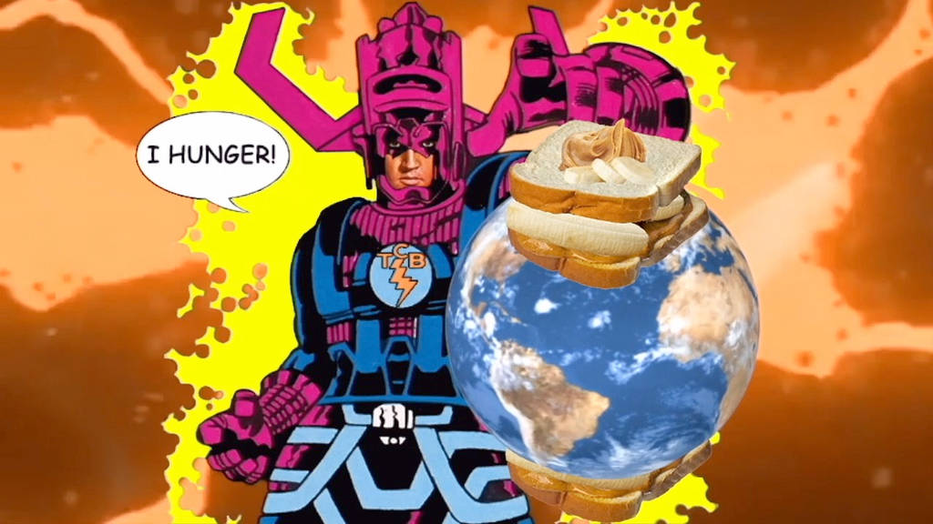 Elvis Presley As Galactus by RoyPrince