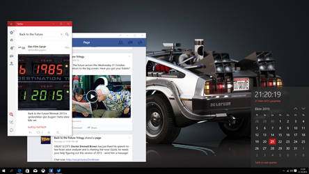BTTF 21.10.15 Desktop by Lylndn