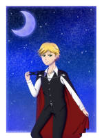 Vampire Adrien by crazy4anime09