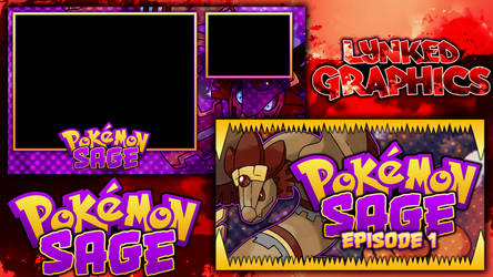 Pokemon Sage Series Pack by LynkedGraphics