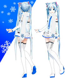 MIKU V4x Winter by ROKI-P