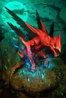 GYPAETUS -  The Bearded Dragon by FabioListrani