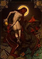 Scarlet Woman - Lady of Babylon by FabioListrani