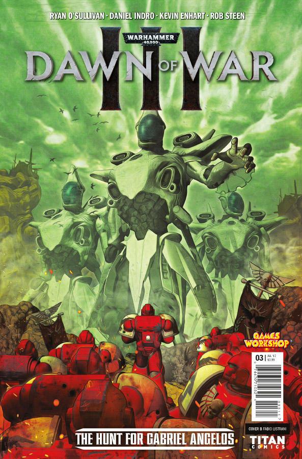 WARHAMMER 40k - Dawn of War III #3 by FabioListrani