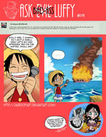 Ask Bad-Ass Luffy - 19 by JaredofArt