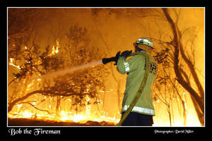 Bob the Firemen by Ozphotoguy