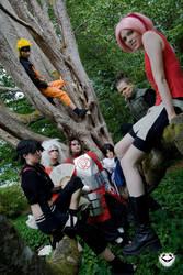 Ninjas in a tree, part 2 by FightingDreamersPro