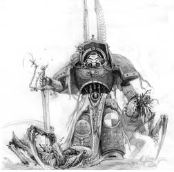 1st captain (sketch) by SprigganE