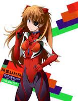 Asuka Evangelion 3.0 by vaghot