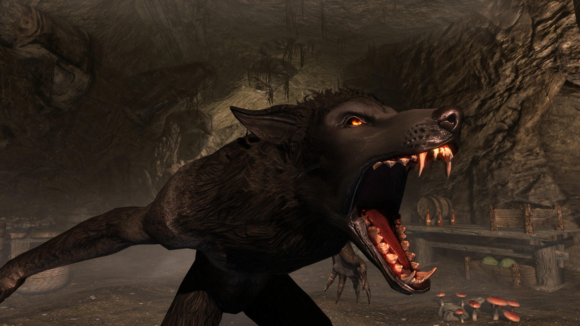 The Elder Scrolls V Skyrim Werewolf By Squishless Skyrim Werewolf