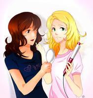 Rachel and Quinn by Hyun-K