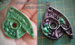 Ghalali Key-inspired pendant/brooch by Greenkey2