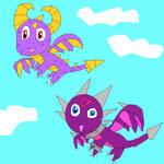 Taking Flight by SuperSmashCynderLum