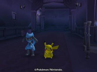 Exploring a haunted house by SuperSmashCynderLum