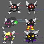 Five Black Lum band and Sixth Ranger by SuperSmashCynderLum