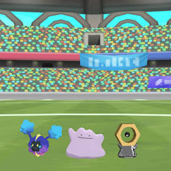 Ditto with Cosmog and Meltan by SuperSmashCynderLum
