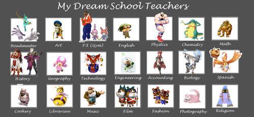 Dream School Teachers Meme (Smash Bros inspired) by SuperSmashCynderLum