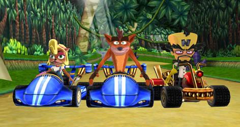 Crash Team Racing is back by SuperSmashCynderLum