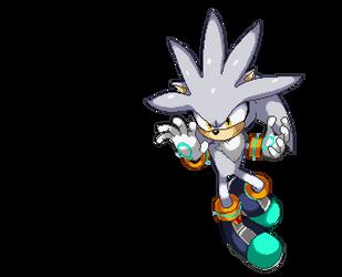 Silver SSF2 Pixel art by NamelessVega