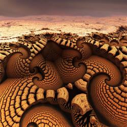 At the Edge of Desert Gulch by dainbramage1