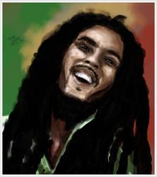 Bob Marley by SheLazY