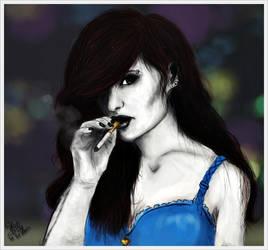 Bad girl / Femme fatale by SheLazY