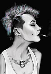 Punk Rock Girl by SheLazY